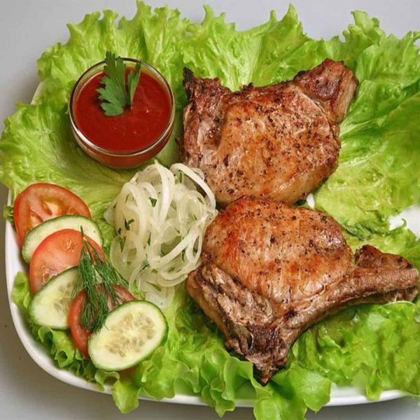 Шашлык из свинины (корейка)